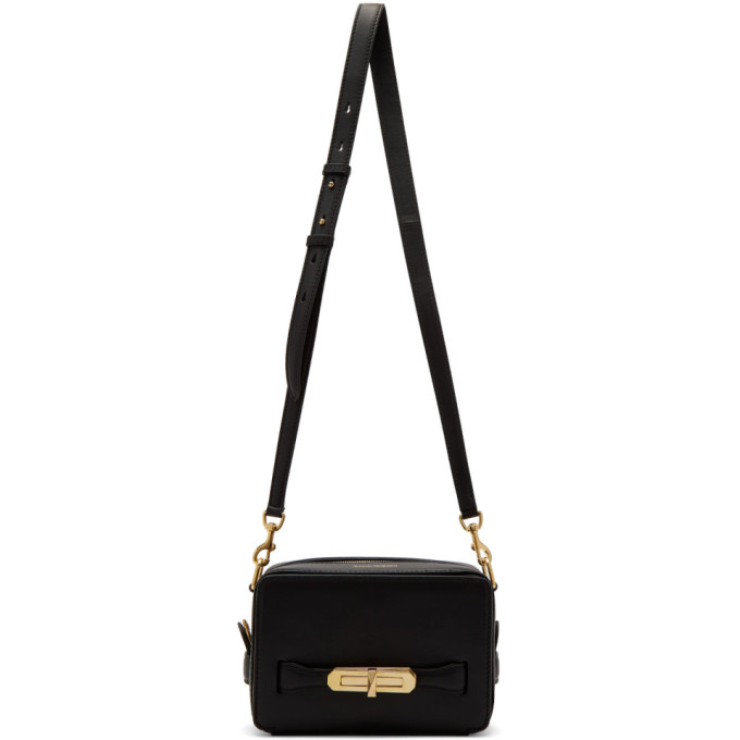 Alexander McQueen Black The Myth Shoulder Bag