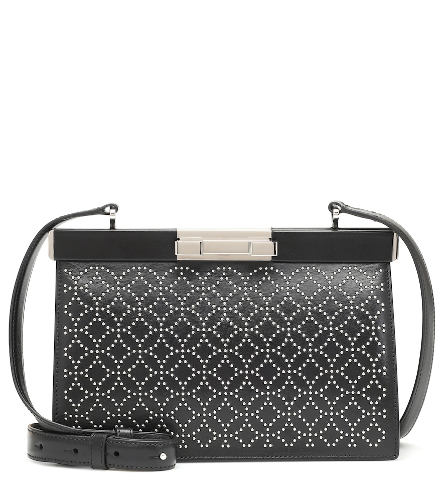Cecile 24 leather shoulder bag