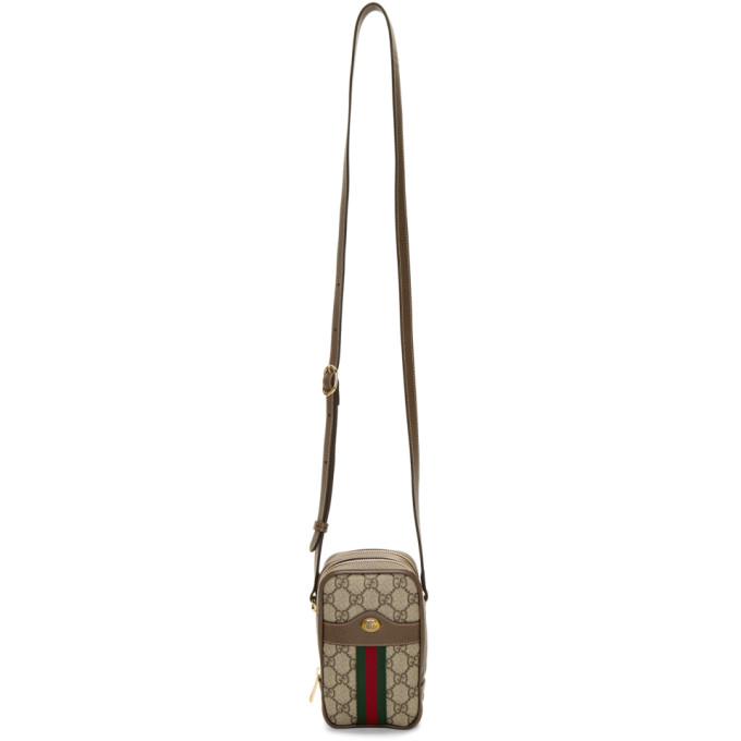 Gucci Beige GG Ophidia Shoulder Bag