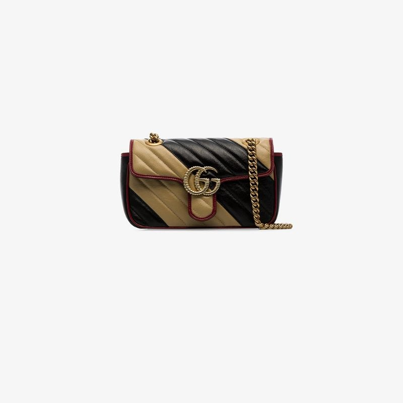 Gucci Womens Multicoloured Gg Marmont Shoulder Bag