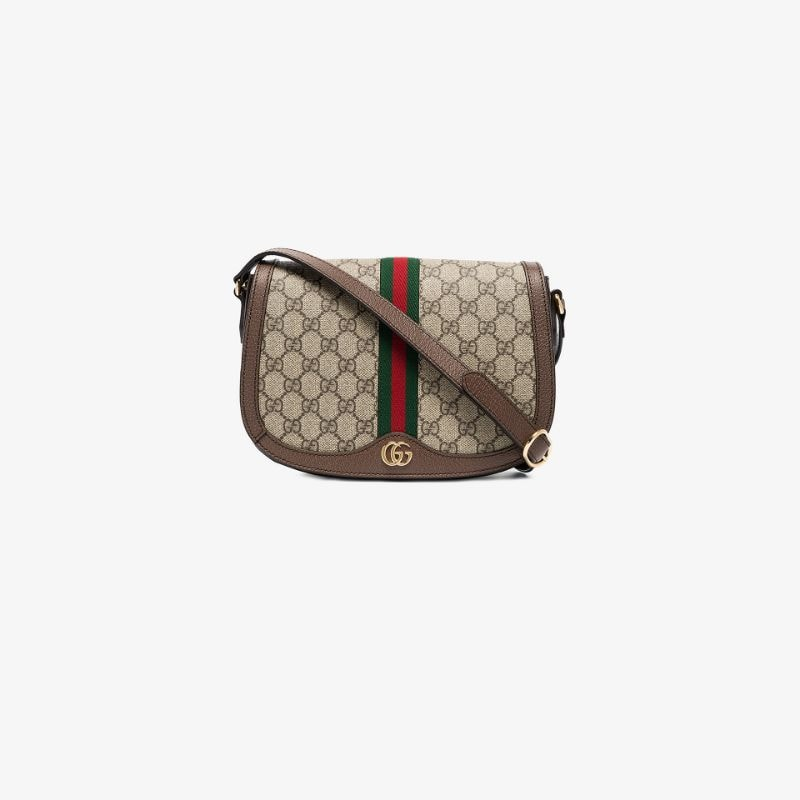 Gucci Womens Neutrals Ophidia Gg Shoulder Bag