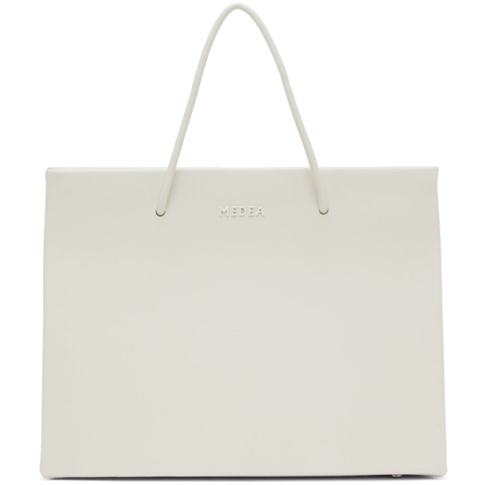 Medea Off-White Hanna Chain Shoulder Bag
