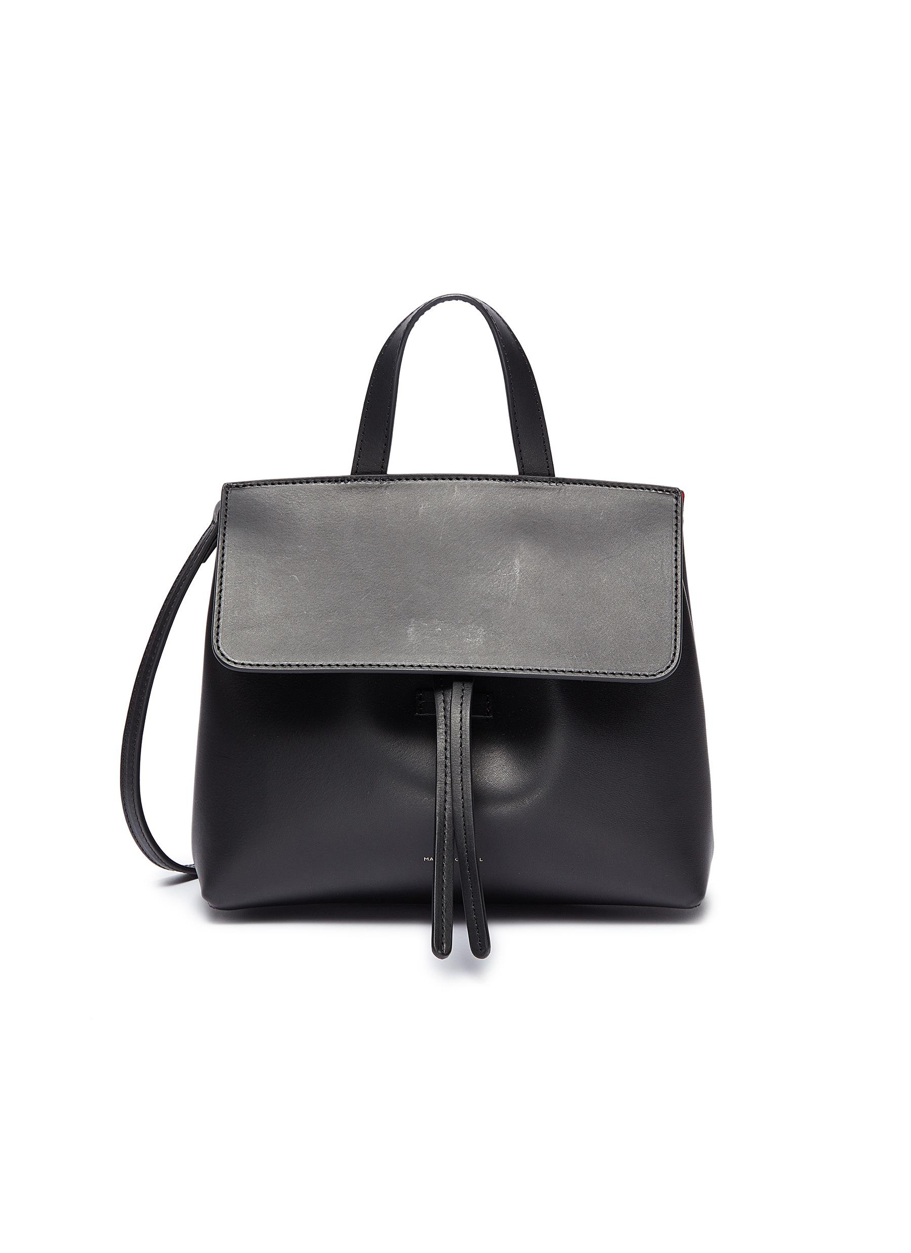 'Mini Mini Lady' leather shoulder bag