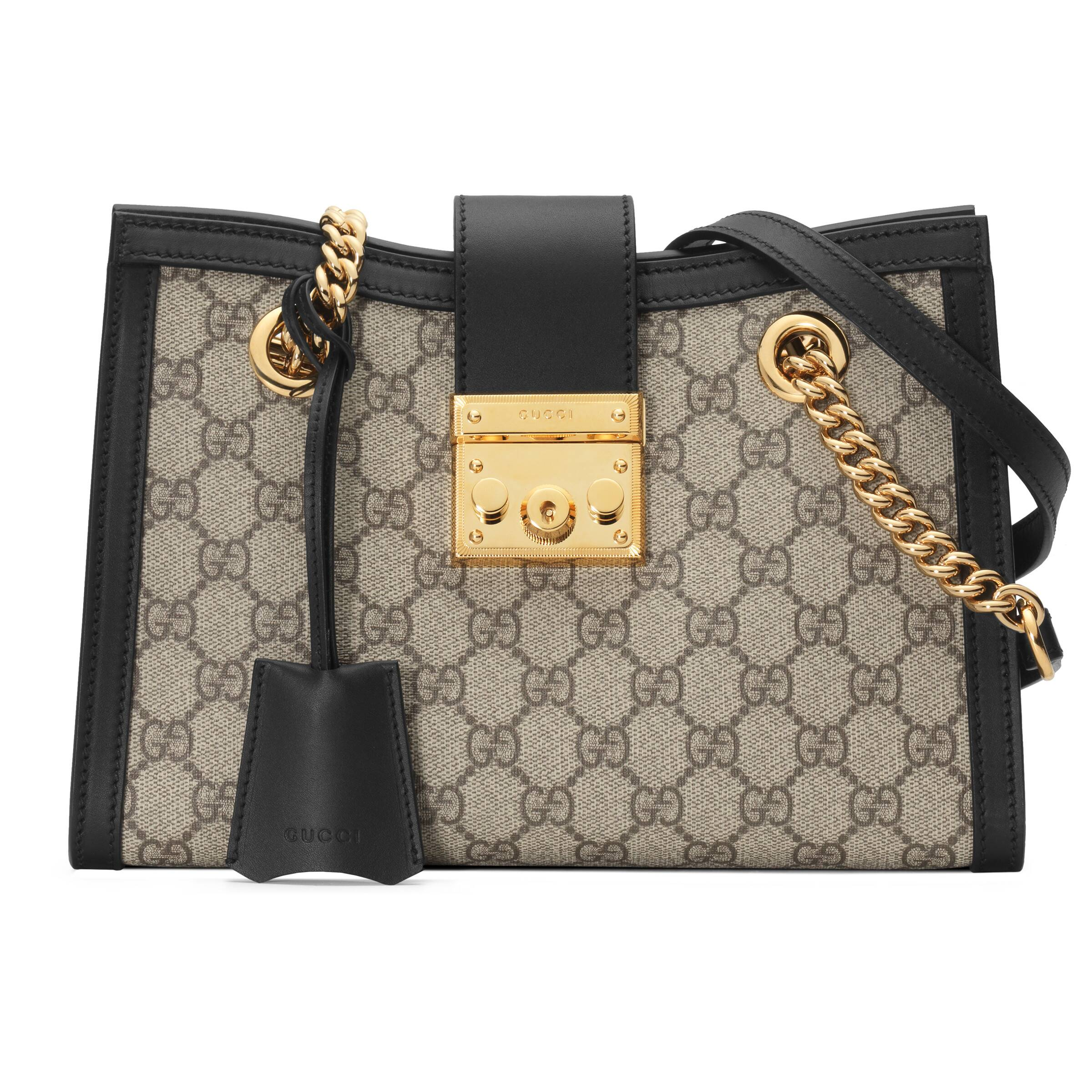 Padlock small GG shoulder bag