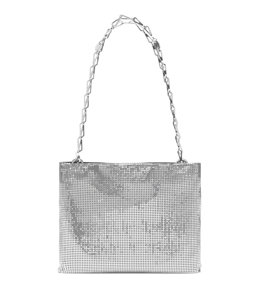 Pixel 1969 mesh shoulder bag