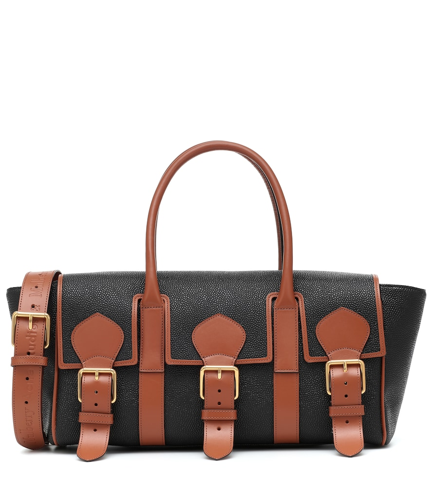 x Mulberry Buckle Bayswater leather shoulder bag